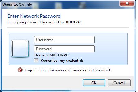 vložte heslo