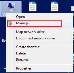 Manage (Spravovat)