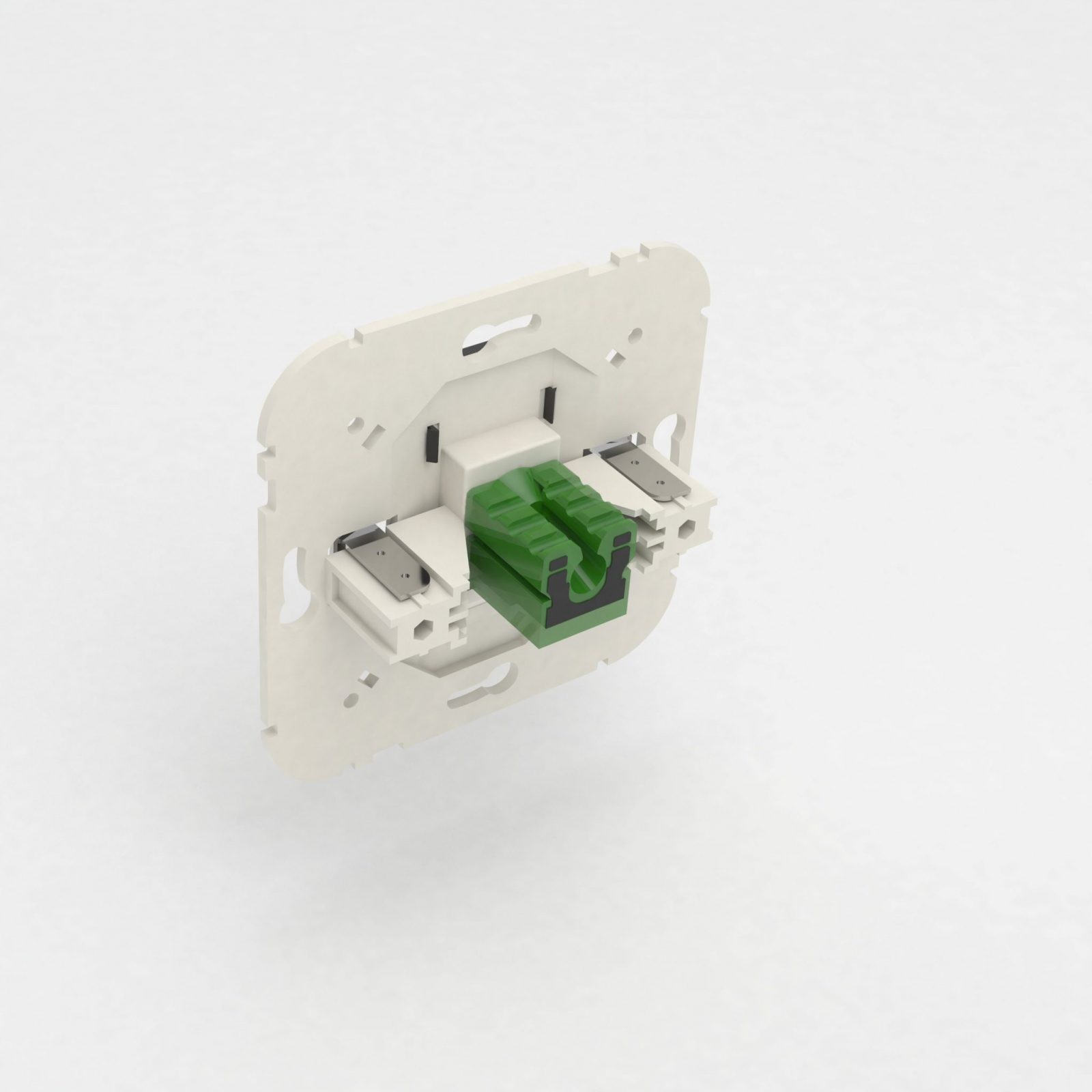 UTP drát - zarážení do síťových zásuvek