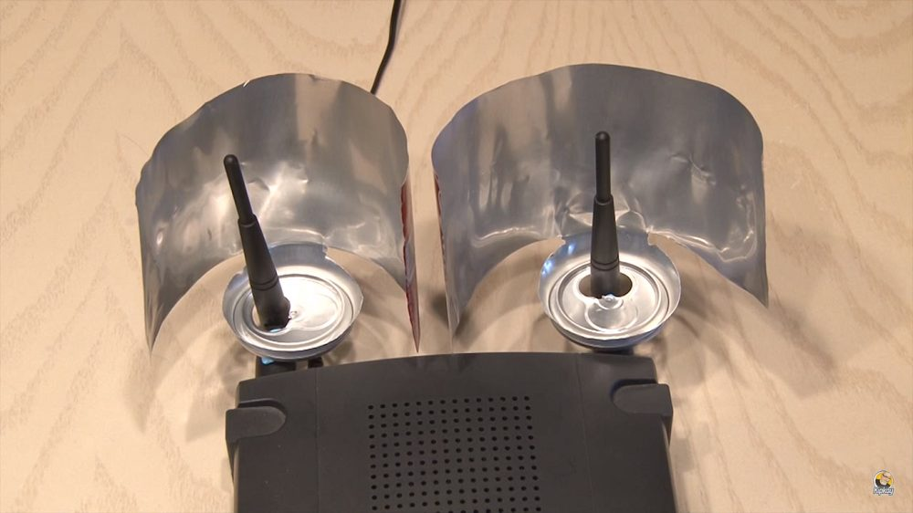 plechovky antena