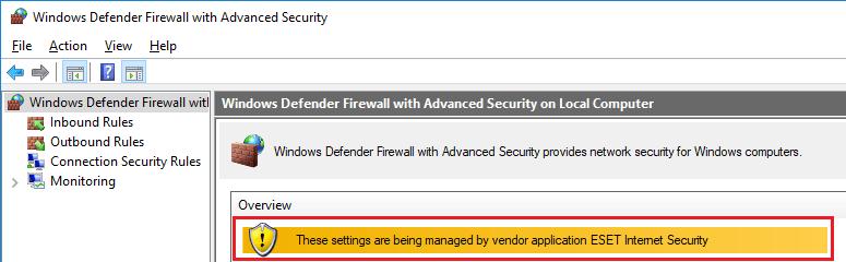 eset firewall