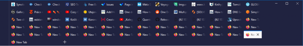 Firefox Multiple rows tabs